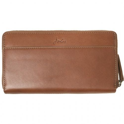 JOULES Fairford Leather Purse